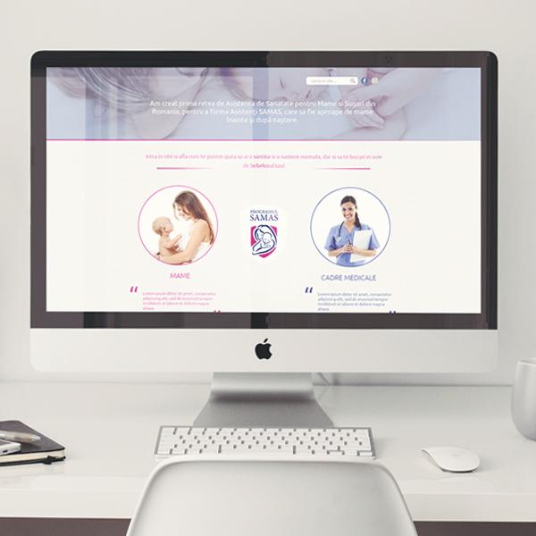 SAMAS Website & CRM